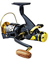 Fishing Reel Spinning Reels 5.2:1 Gear Ratio+10 Ball Bearings Exchangable Left-handed Right-handed Sea Fishing Bait Casting Spinning