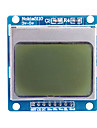 "1.6 ""nokia 5110 μονάδα LCD με μπλε οπίσθιο φωτισμό για (για Arduino)"