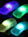 LED Night Light Vanntett Batteri PVC 1 Lampe Batterier Inkludert 10.0*3.8*3.0cm