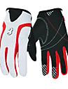 BOODUN/SIDEBIKE® Спортивные перчатки Перчатки для сенсорного экрана Перчатки для велосипедистов Полный палец Кожа Нейлон Велосипедный