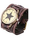 Men\'s Personalized Retro Leather Bracelet Watch Wrist Watch Cool Watch Unique Watch Fashion Watch