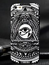 Triangular Eyes Pattern Embossment PC Hard Case for iPhone 5/5S