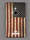 Soft Silicone American Flag Design  Cover Back for Lumia 925
