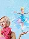 Inductive Control RC Flying Toys for Children Fashion Flying Doll Magic Fairy with Light and Music(Let it go)