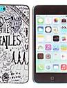 caso duro zona mística popular banda Beatles padrão pc para iphone 5c