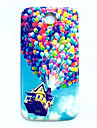 Balloon Up Pattern Thin Hard Case Cover for Samsung Galaxy S4 I9500