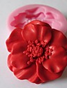 Mold Flower For Chocolate For Cookie For Cake Silicone Eco-friendly DIY Valentine's Day