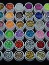 36PCS Glitter UV Color Gel Fast-drying Cleanser Polish