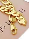 Муж. Ожерелья-цепочки Позолота Сплав бижутерия Бижутерия Назначение Повседневные Спорт Новогодние подарки