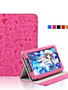 Case For Lenovo Full Body Cases Cases with Stand Full Body Cases Print Cartoon Hard PU Leather for