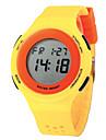 Mulheres Relogio digital Relogio Casual Quartzo Digital Relogio Esportivo PU Banda Preta Azul Vermelho Cinza AmareloCinzento Amarelo