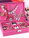 European And Classic Sweet Three Layers Princess Jewelry Boxes(1 pc)(More Color)
