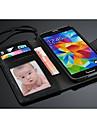 fashion® крышка благородный бумажник случай с слотом для карт Samsung Galaxy S5 i9600