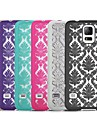 Damask Vintage Pattern Rubber Matte Hard Case for Samsung S5 I9600 (Assorted Color)