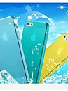 TPU Transparent Soft Cover Case for iPhone 5/5S (Assorted Colors)