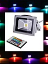 1pc 4 W / 10 W 450-700 lm 1 LED perler Integrert LED Fjernstyrt RGB 85-265 V