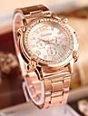 Women's Fashion Rhinestones Steel Belt Quartz Watch Cool Watches Unique Watches