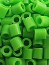 около 500 шт / мешок 5мм зеленый лайм бисер предохранителей Hama бисер DIY головоломки Ева материал Сафти для детей ремесла