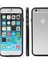 ультра тонкий корпус бампер для iPhone кадров 6 / 6с (ассорти цветов)