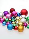 Decorations de Noel Decorations d\'arbre de noel Balle Mignon Adorable Plastique Garcon Fille Jouet Cadeau 36 pcs