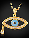 Women's Pendant Necklaces Gold Plated Alloy Fashion Jewelry Daily 1pc