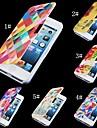 Pour Coque iPhone 5 Etuis coque Clapet Motif Magnétique Coque Intégrale Coque Dessin Animé Dur Cuir PU pour iPhone SE/5s iPhone 5