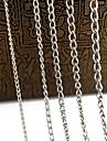 cadeias de liga eruner®0.9mm jóias diy (1m, cores sortidas)