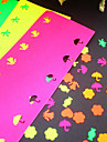 5 pegatinas de color de papel para punzon (5 piezas)