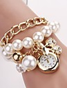 Women's  Round Dial Hang  Cherry  Bracelet Watch New Pearl Series  Watches C&D-134 Cool Watches Unique Watches