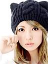 여성용 귀여운 캐쥬얼 겨울 블랙