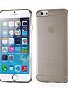 couleur unie silicone souple mince couverture de 0,3 mm de la peau pour iPhone 6 (couleurs assorties)