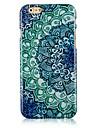 Pour Coque iPhone 6 Coques iPhone 6 Plus Etuis coque Motif Coque Arrière Coque Mandala Dur Polycarbonate pouriPhone 6s Plus iPhone 6 Plus