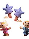 Игрушки Пальцевые куклы Марионетки Высокое качество текстильный Плюш Милый стиль Милый Оригинальные Девочки Мальчики Подарок