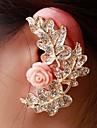 Fashion Exquisite Women Leaf Flower Ear Cuffs Random Color