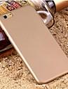 Capinha Para iPhone 6 iPhone 6 Plus Aspero Capa Traseira Cor Solida Rigida PC para iPhone 6s Plus iPhone 6 Plus iPhone 6s iPhone 6