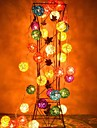 jiawen® 4m 20leds rgb led rotin boule chaîne lumière chaîne de lumière pour la décoration (ac 110-220v)