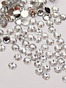 5000PCS Transparent Flatback Resin Gems 3mm Handmade DIY Craft Material/Clothing Accessories