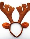 festa de natal chapeu de garganta de cervos bonitos cabeca de cabeca de cabelo 33 * 34 * 4cm