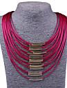 Pentru femei Coliere / Bratara colier - Declarație, Vintage, Modă Rosu, Albastru, Fucsia Coliere Bijuterii Pentru Petrecere, Ocazie specială, Zi de Naștere