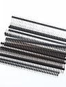 1 x 40 Pin 2.54mm Pitch Single Row Right Angle PCB Pin Headers (20pcs)