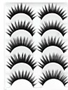 Eyelashes lash Eyelash Thick Natural Long Volumized Natural Thick Fiber