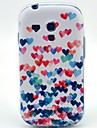 Colorful Heart Pattern Soft Case for Samsung Galaxy S3 Mini I8190