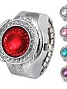 Женские Модные часы Часы-кольцо Кварцевый сплав Группа Винтаж Серебристый металл