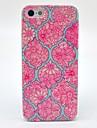 iPhone 5cのための曼荼羅の花柄ハードカバーケース