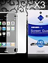 HD Screen Protector with Dust-Absorber for iPhone 3/3GS  (3 PCS)