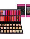 haute qualité 52 couleurs Lip Gloss / Palette de maquillage correcteur ensemble