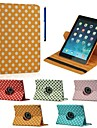 Case For iPad Air 2 with Stand 360° Rotation Full Body Cases Geometric Pattern PU Leather for iPad Air 2