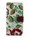 Для Кейс для iPhone 6 / Кейс для iPhone 6 Plus со стендом / Флип Кейс для Чехол Кейс для Цветы Твердый Искусственная кожаiPhone 6s Plus/6