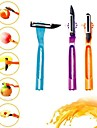 4 in 1 Multi-functional Rotating Stainless Steel Material of Fruit Vegetable Peeler(Random Color)