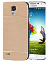haute qualité couleur unie df de luxe en aluminium brossé de cas dur pour Samsung i9500 de la (de couleur assortie)